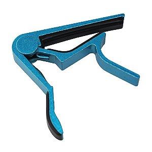Capotraste de Alumínio Azul para Violão MC-5001BLUE
