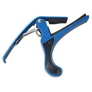 Capotraste de Alumínio Azul para Violão  MC-28BE
