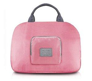 Bolsa de Viagem Dobrável Jacki Design - ARH18689  Cor:Rosa