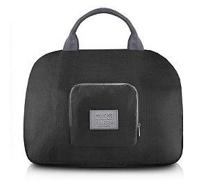 Bolsa de Viagem Dobrável Jacki Design - ARH18689  Cor:Preto