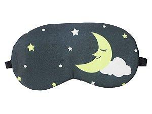Máscara de Gel Térmico para Descanso Estampa:Lua
