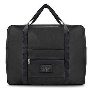 Bolsa de Viagem Dobrável GG (Viagem) Jacki Design - ARH18756 Cor:Preto