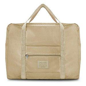 Bolsa de Viagem Dobrável GG (Viagem) Jacki Design - ARH18756 Cor:Bege