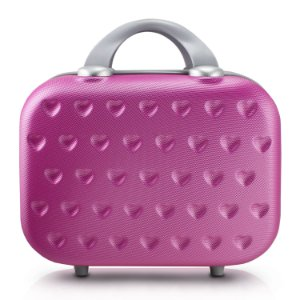 Frasqueira de Viagem Love Pink Jacki Design - AHZ19859