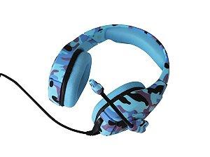 Fone de Ouvido Professional Gaming Headset Onikuma K1-B Cor:Azul Cammo
