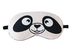 Máscara de Gel Térmico para Descanso Panda Cor:Bege