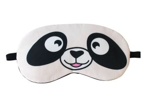 Máscara de Gel Térmico para Descanso Panda Cor:Branco