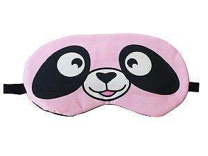 Máscara de Gel Térmico para Descanso Panda Cor:Rosa