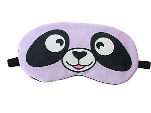 Máscara de Gel Térmico para Descanso Panda Cor:Roxo