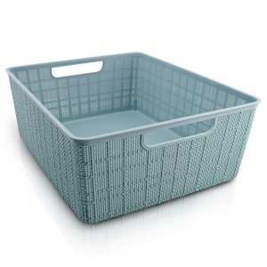 Cesto Organizador com Alça (G) Jacki Design - ATH19790 Cor:Azul