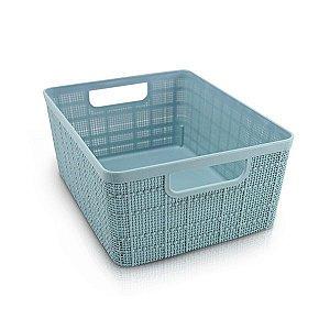 Cesto Organizador com Alça (P) Cozy Jacki Design - ATH19789 Cor:Azul