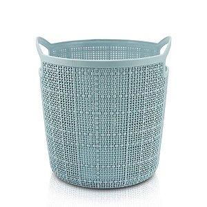 Cesto Organizador Redondo (P) Cozy Jacki Design - ATH19785 Cor:Azul