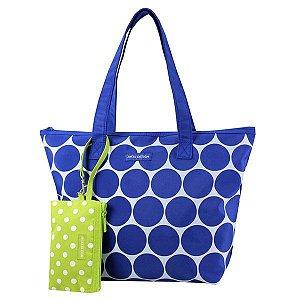 Bolsa com Niqueleira Dots Jacki Design - AHL19833 Cor:Azul