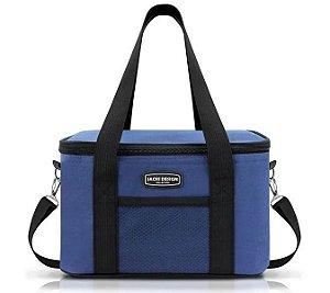 Bolsa Térmica G Urbano Jacki Design AHL16020 Cor:Azul