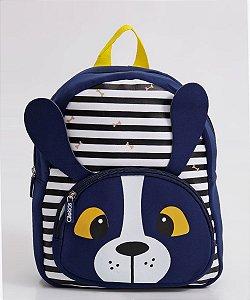 Mochila Escolar Infantil Listrada Clio Pets Cachorro - CP2108P