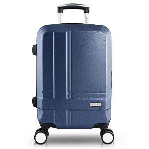 Mala de Viagem Bordo ABS Executiva Azul Jacki Design - AHZ20891