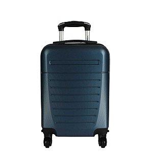Mala de Bordo Azul ABS Rígida 18' Yin's - YS21025A