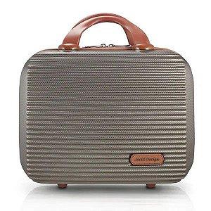 Frasqueira de Viagem Premium Bronze Jacki Design - AHZ20883