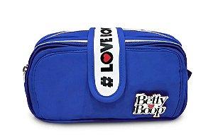Estojo Duplo Betty Boop Clio Azul - BP2310