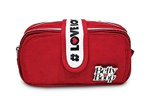 Estojo Duplo Betty Boop Clio Vermelho - BP2310