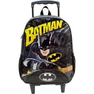 Mochila com Rodas 14' Batman Forceful Xeryus - 8851