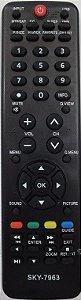 CONTROLE REMOTO TV LCD H-BUSTER PRETO HTR D19