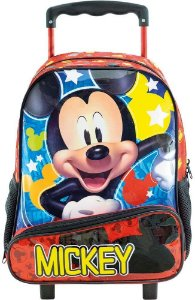 Mochila com Rodas 16' Mickey Hey Mickey! Xeryus - 8960