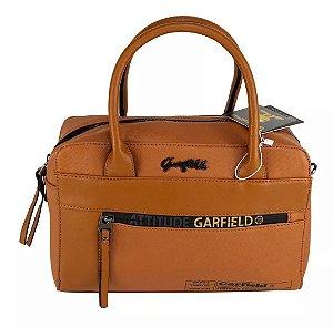 Bolsa Baú Feminino Garfield Street Semax Caramelo - GF3904