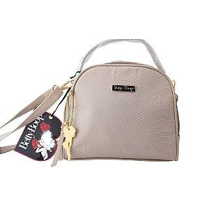 Bolsa Transversal Betty Boop Semax Taupe - BP9901