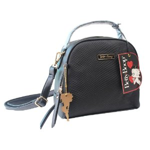 Bolsa Transversal Betty Boop Semax Preto - BP9901