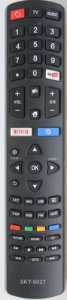 Controle Remoto TV LED Philco com Netflix / Youtube / Smart  SKY-9027