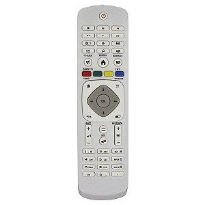 Controle Remoto TV LCD Philips Branco