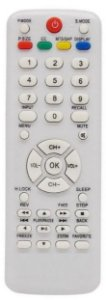 CONTROLE REMOTO TV LCD H-BUSTER BRANCO - SKY-7818