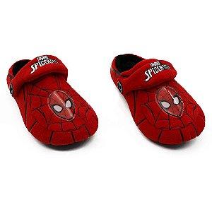 Pantufa Infantil Kick Marvel Spider-Man (Homem-Aranha) G 31/33 Zona Criativa - 10071251