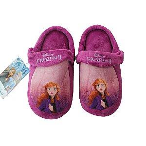 Pantufa Infantil Kick Frozen Anna M 28/30 Zona Criativa - 10071260