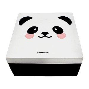 Porta Joia Panda em MDA 16X16X8CM Zona Criativa - 10071000