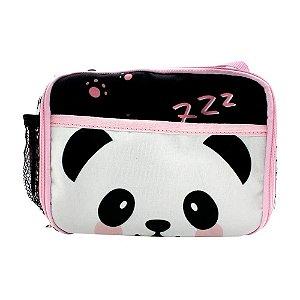 Lancheira Térmica Panda com 2 Bolsos Zona Criativa - 10070986