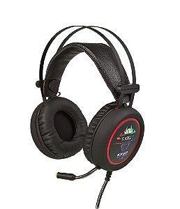 Fone De Ouvido Headset Gamer 7.1 Sound Usb Microfone Knup  - KP-401