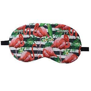 Máscara de Gel Térmico para Descanso Estampa Flamingo Mod.2 - XD356021