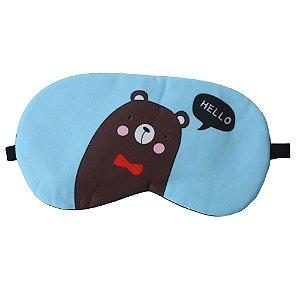 Máscara de Gel Térmico para Descanso Estampa Oi Urso - XD356029