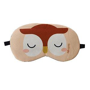 Máscara de Gel Térmico para Descanso Estampa Coruja - XD356198