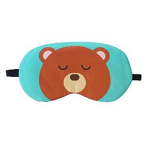 Máscara de Gel Térmico para Descanso Estampa Urso - XD356198