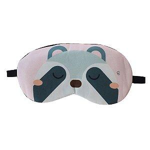 Máscara de Gel Térmico para Descanso Estampa Guaxinim - XD356198