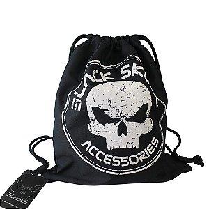 Mochila Sacola Esportiva Black Skull Clio Branco - BS2193