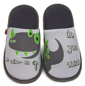 Pantufa Sauros Infantil 27/28 Cotton Day - 21203