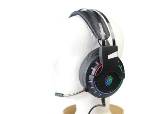 Headset Gamer USB com Microfone 7.1 LED SH-FO-Q10 Shinka