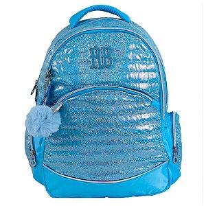 Mochila Glitter Azul Rebecca Bonbon - RB2087