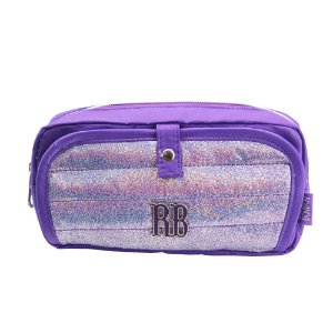 Estojo Duplo Glitter Roxo Rebecca Bonbon - RB2066
