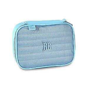 Estojo 100 Pens Glitter Azul Rebecca Bonbon - RB2065