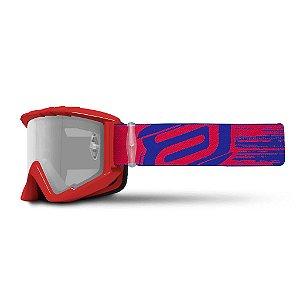 Óculos ASW A2 Brush Vermelho/Azul